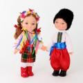 Комплект ляльок Українці в наборі 2шт висота 35см В219