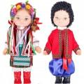 Комплект кукол Украинцы в наборе 2шт высота 35см