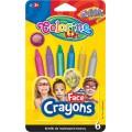 Карандаши для лица Metallic 6 цветов Colorino