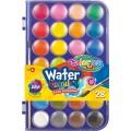 Фарби акварельні з пензликом 28 кольорів Colorino
