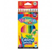 Олівці кольорові 12 кольорів Colorino