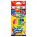 Карандаши цветные 12 цветов Colorino