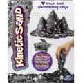 Kinetic Sand Кинетический песок для детского творчества METALLIC (чёрный, 454 г)