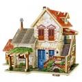 3D Домик конструктор деревянный Фермерский домик. Франция Robotime