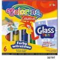 Клей для стекла 6 цветов Colorino