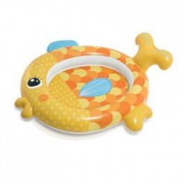 Бассейн детский Золотая рыбка Intex 140х124х34см 57111