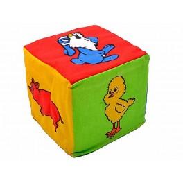 Кубик-погремушка Животные УИ 0007