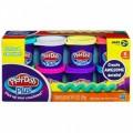 Набор пластилина Play-Doh Plus 8 баночек Play-Doh  A1206