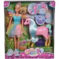 Кукла Штеффи и Беременная мама-единорог с малышом Steffi & Evi Love 573 3313