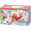Игровой набор Ветеринарная клиника с переноской для щенка Ecoiffier  001907
