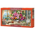 Пазлы Castorland 4000 SUMMER FLOWERS AND CUP OF TEA С-400263
