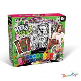 Сумка-раскраска большая My color bag 5 видов