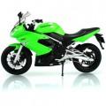 Модель мотоцикл 1:10 kawasaki 2009 ninja 650r Welly 62803W