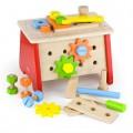 Дерев'яний ігровий набір Столик з інструментами Viga Toys 51621