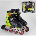 Детские Ролики раздвижные Best Roller колёса PVC  р 30-33  50025-S