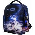 Рюкзак ранец школьный каркасный с мешком для сменной обуви пеналом и электронными часами DeLune 7mini-019