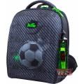 Рюкзак-ранець шкільний каркасний з мішком для змінного взуття пеналом і електронним годинником DeLune 7mini-007