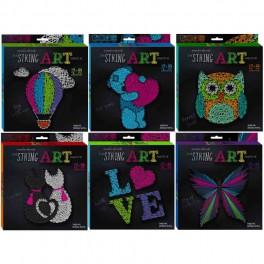 Набор креативного творчества STRING ART плетение нитью