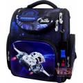 Рюкзак ранець шкільний з мішком для змінного взуття і електронним годинником DeLune 3-176