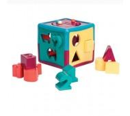 Умный куб развивающая игрушка - сортер 12 форм